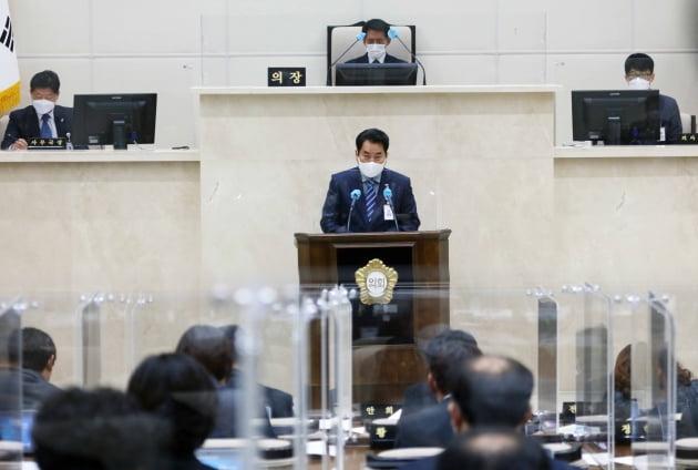 '품격있는 세계 일류도시 용인 조성', 백군기 용인시장 시정연설