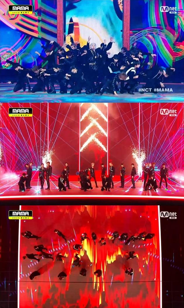 '2020 MAMA' NCT /사진=Mnet 방송화면 캡처