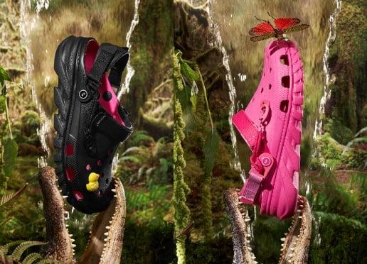 '핑크색 클로그' 선보인 크록스와 포스트 말론
