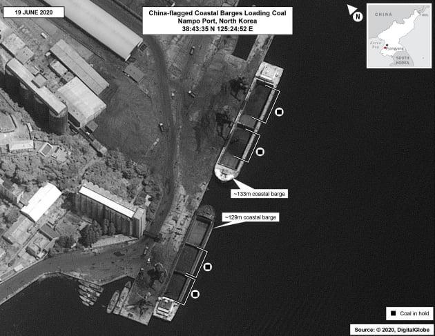 뻥 뚫린 대북 제재…중국, 대놓고 북한 석탄 수입