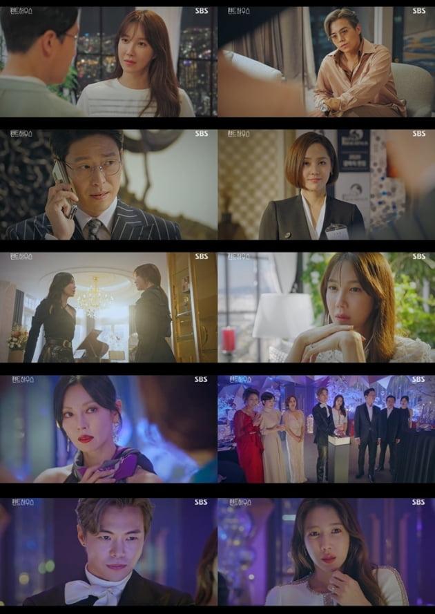 '펜트하우스' 이지아 박은석 /사진=SBS