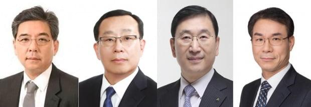 왼쪽부터 장재훈·조성환·윤영준·정재욱. 사진 = 현대차그룹