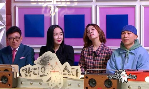 '라디오스타' 낸시랭/사진=MBC '라디오스타'