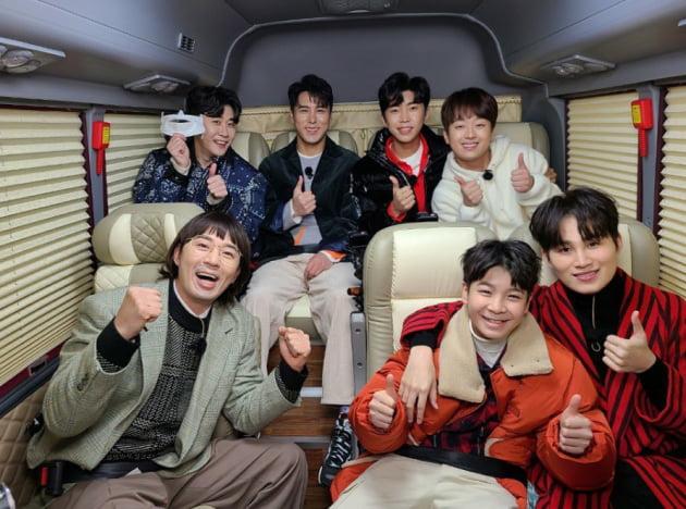 '미스터트롯' 톱6 /사진=공식 인스타그램