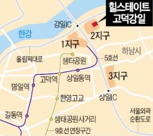 [단독] '힐스테이트 고덕강일' 분양가 3.3㎡당 2230만원