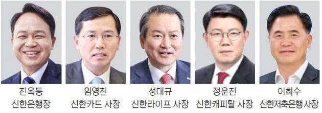 진옥동·임영진 연임…신한라이프 사장에 성대규