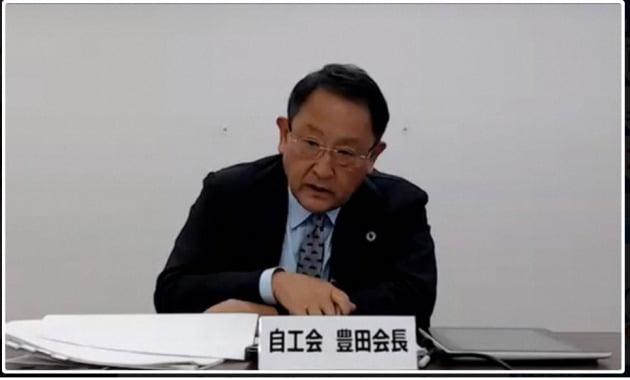도요타 정용효 회장의 일본 산업 분석에 대한 이례적인 비판