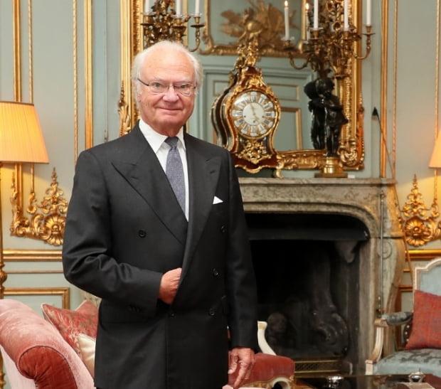 스웨덴 국왕 칼 구스타프 16세. 사진=뉴스1