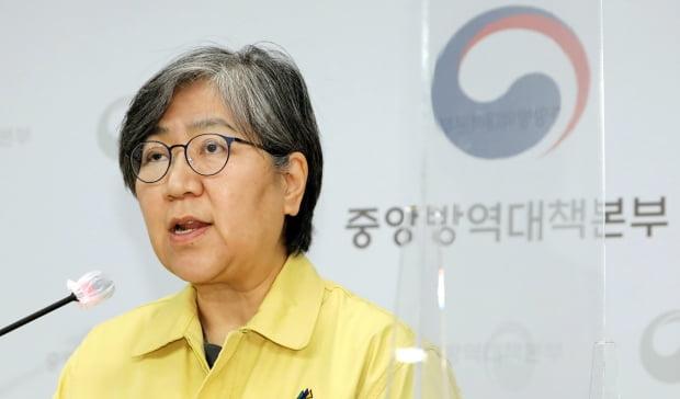 정은경 중앙방역대책본부장(질병관리청장). 사진=연합뉴스