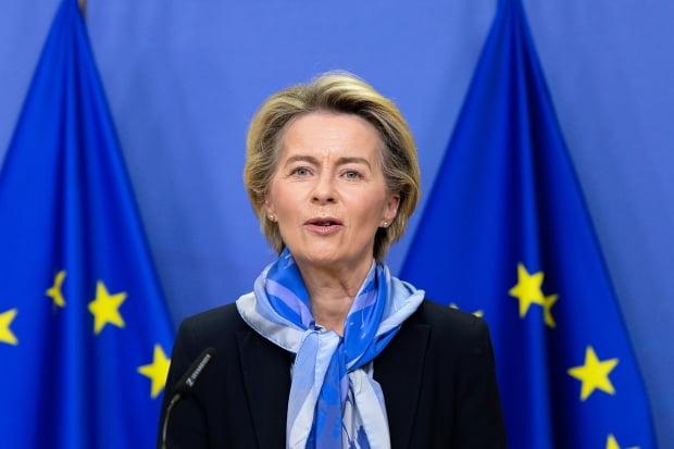우르줄라 폰데어라이엔 EU 집행위원장. 사진=AP 연합뉴스