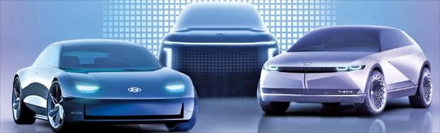 현대차가 내년 전용 플랫폼 E-GMP를 바탕으로 제작한 차세대 전기차를 선보인다. 사진=현대차
