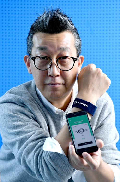 """[2020 인하대 스타트업 CEO] 이혁진 하벤 대표 """"손목밴드 하나로 손쉽게 온도 체크 하세요"""""""