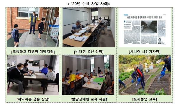 고용노동부, 퇴직한 신중년 경력 이용한 '신중년 사회공헌 사업' 시작