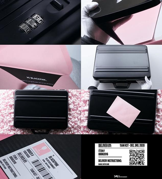 블랙핑크 향한 초대장, 12월 3일 배송 예고…티저 영상 속 의문의 숫자 '궁금증 UP'