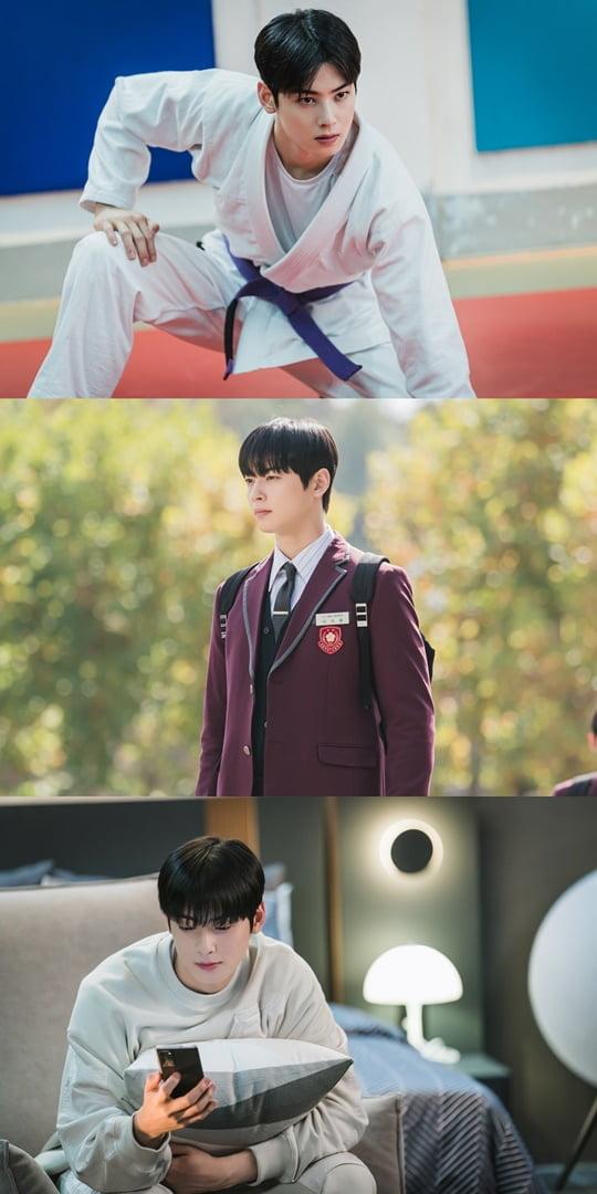 '여신강림' 차은우 (사진출처= tvN)