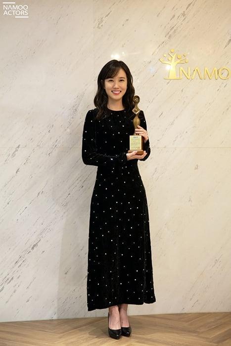 대세 배우 박은빈, '2020 그리메상 시상식' 최우수 여자 연기상 수상