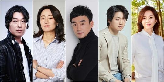 정해균, 김수진, 정희태, 조복래, 신은정 (사진=각 소속사)