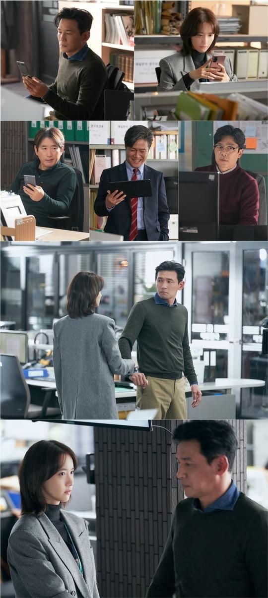 허쉬 황정민 임윤아 김원해 이승준(사진=키이스트, JTBC스튜디오)