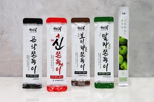 [2020 한국소비자만족지수 1위] 곤약쫀드기 브랜드, 자연공유