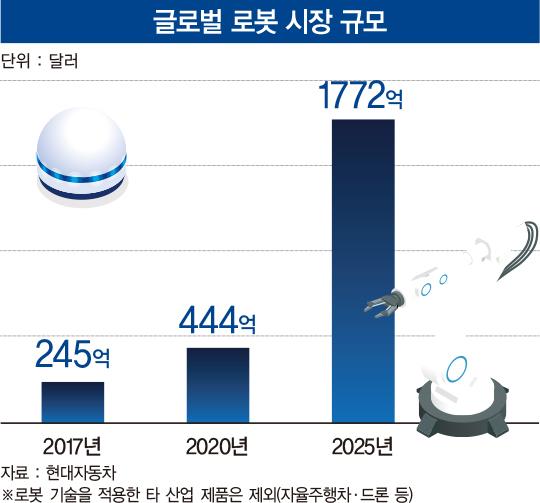 단숨에 '글로벌 키 플레이어'로…정의선 회장의 로봇 승부수