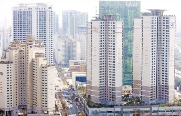 경기도 성남시 분당구 일대 아파트 단지. / 자료=  한경DB