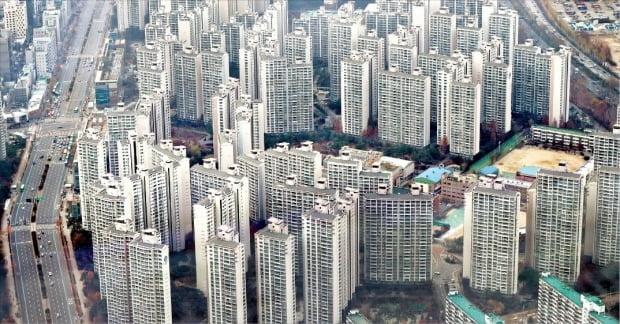 아파트가 밀집해 있는 서울 잠실지역.  /연합뉴스