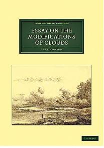루크 하워드, '구름 수정에 대한 에세이' 표지