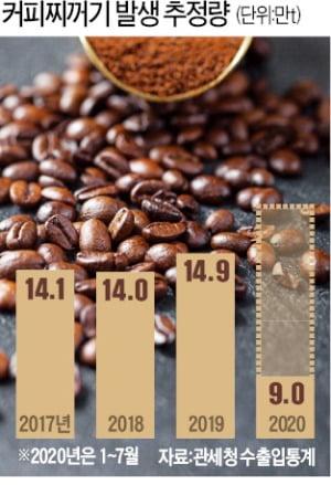 까만 연기 내뿜던 커피찌꺼기…천연 비료·연료로 '놀라운 변신'