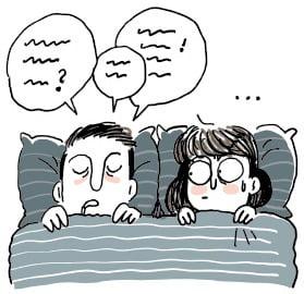 [생활속의 건강이야기] 잠자면서 말을 해요