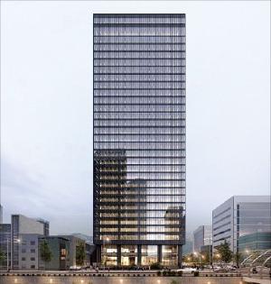 2021년 4월 서울관광플라자가 들어서는 종로 관철동 삼일빌딩    서울관광재단 제공