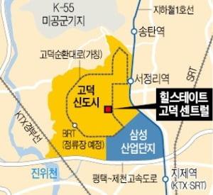 49층 주거·상가…'고덕 랜드마크' 노린다