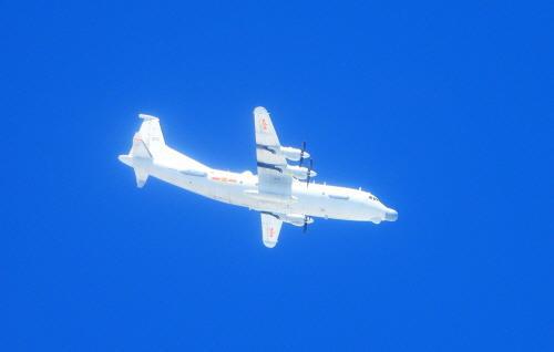 대만·중국 군용기 공중서 500m까지 접근 비행