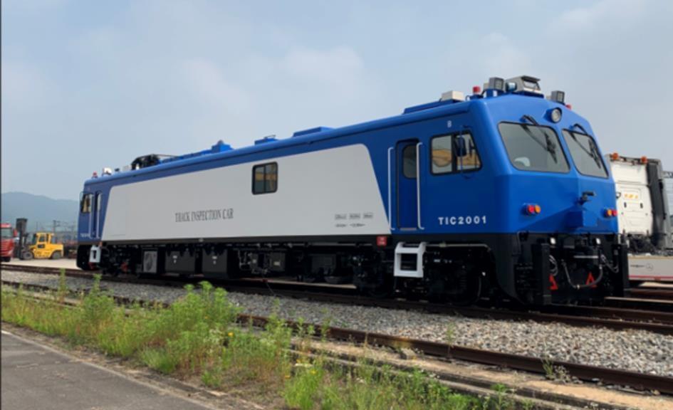 국가철도공단 궤도 검측용 선로점검차 2대 새로 도입