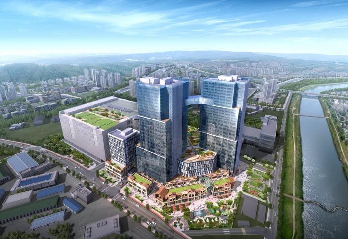 전국 최대 규모 대형 지식산업센터 `현대 테라타워 CMC` 분양 중