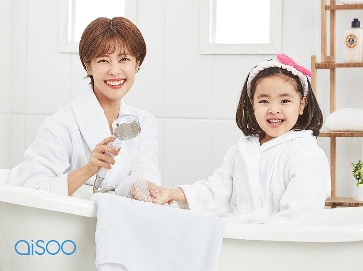 샤워기필터 브랜드 아이수, 이윤지&라니 모델발탁