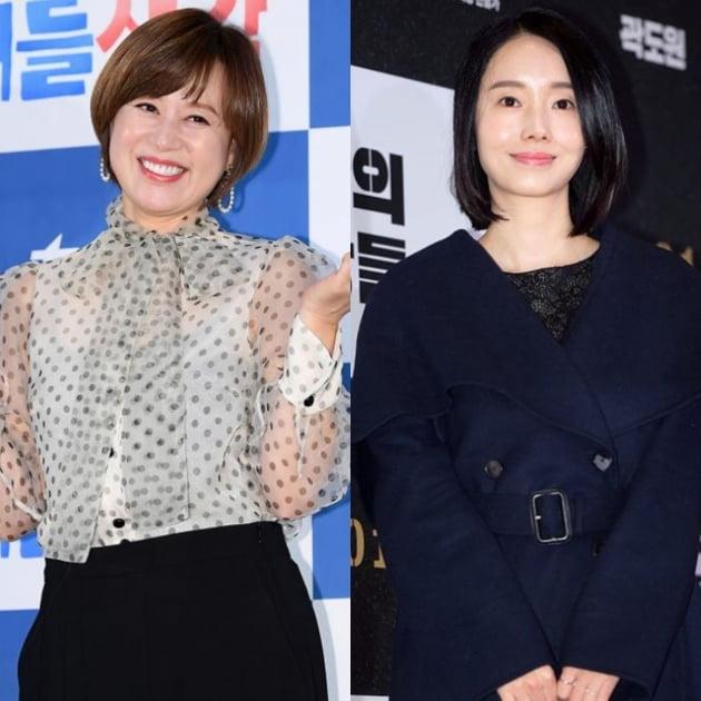 개그우먼 박미선(왼쪽), 배우 이정현. /텐아시아DB