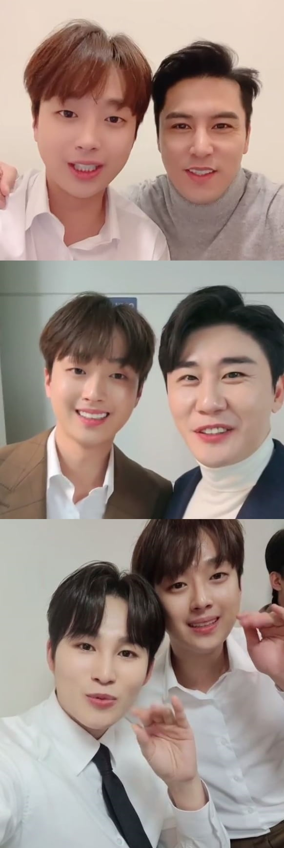 /사진=장민호, 영탁, 김희재 인스타그램