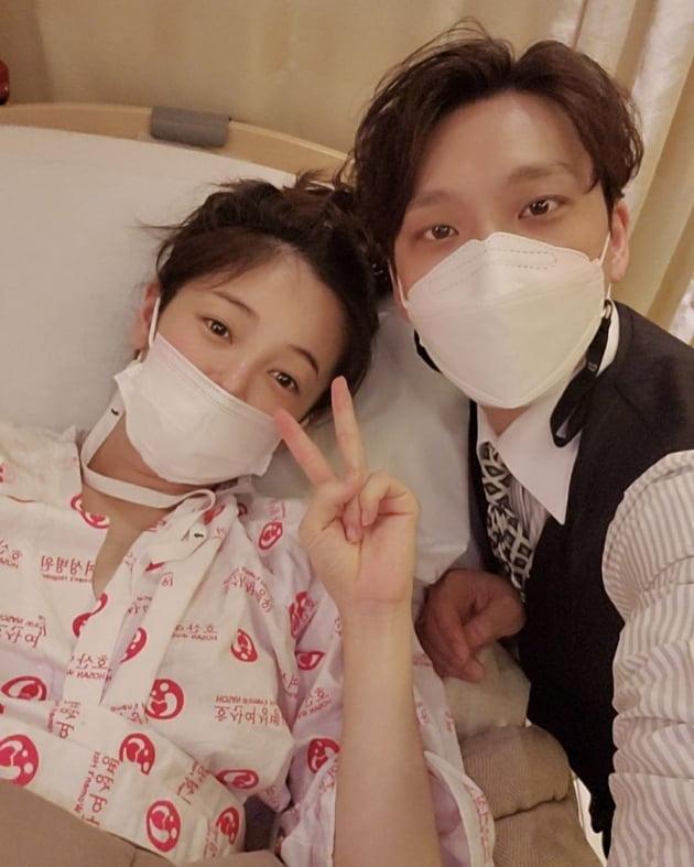 """'윤전일♥' 김보미, """"사랑받는 아이로 잘 키울 것"""" 득남 소감 [전문]"""