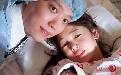 """'윤전일♥' 김보미 득남, """"사랑받는 아이로 키울 것"""""""