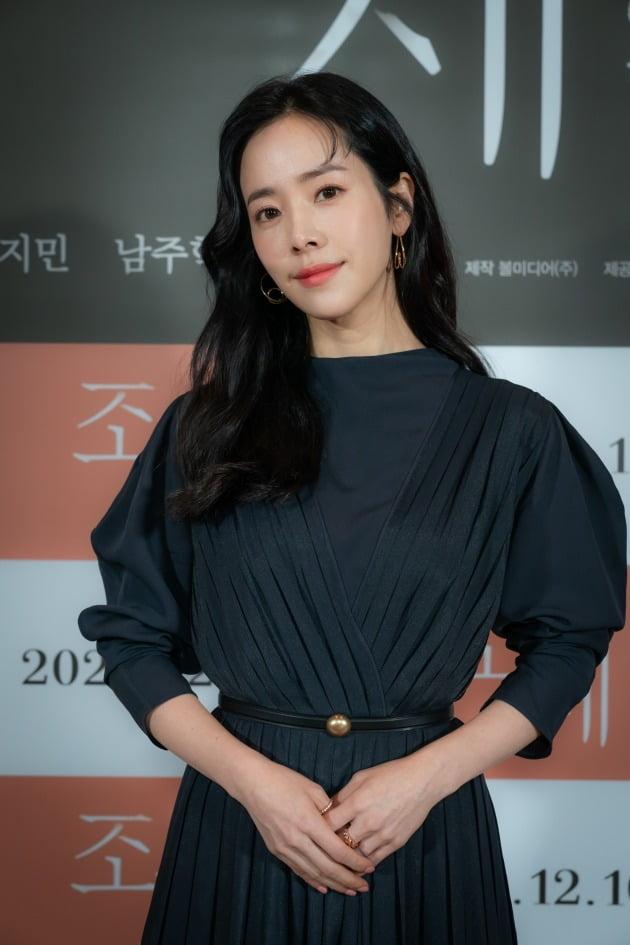 배우 한지민이 2일 열린 '조제' 언론시사회에 참석했다. / 사진제공=워너브러더스 코리아