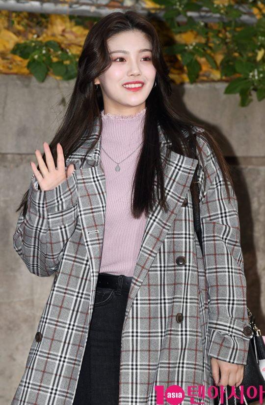 Mnet '프로듀스 48' 출신 고유진. /텐아시아DB