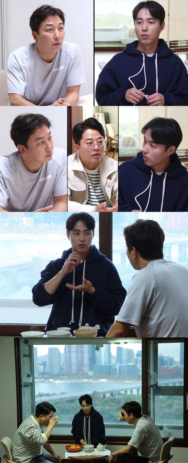 탁재훈, 김준호가 '미우새' 오민석을 위해 '예능 특훈'에 나섰다. / 사진제공=SBS