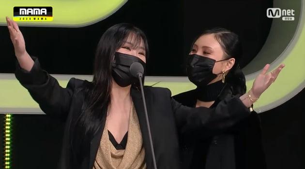 그룹 마마무 / 사진 = 엠넷 방송화면