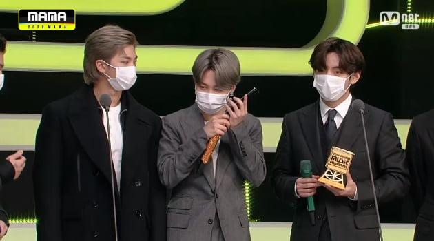 그룹 방탄소년단/ 사진 = 엠넷 방송화면