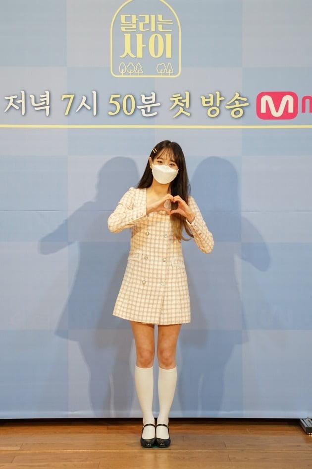 '달리는 사이' 츄/ 사진=Mnet 제공