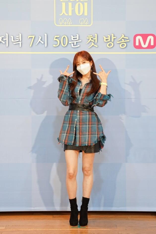 '달리는 사이' 하니/ 사진=Mnet 제공