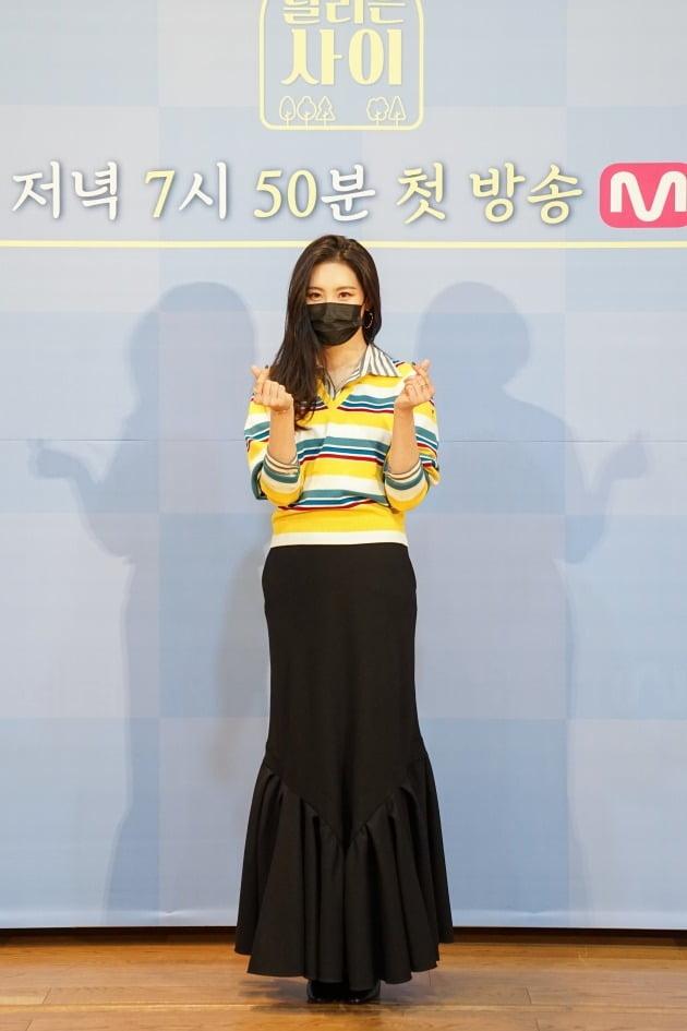 '달리는 사이' 선미/ 사진=Mnet 제공