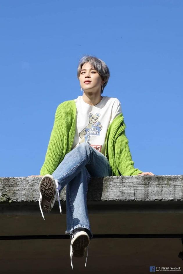 그룹 방탄소년단 지민 / 사진 = 방탄소년단 페이스북