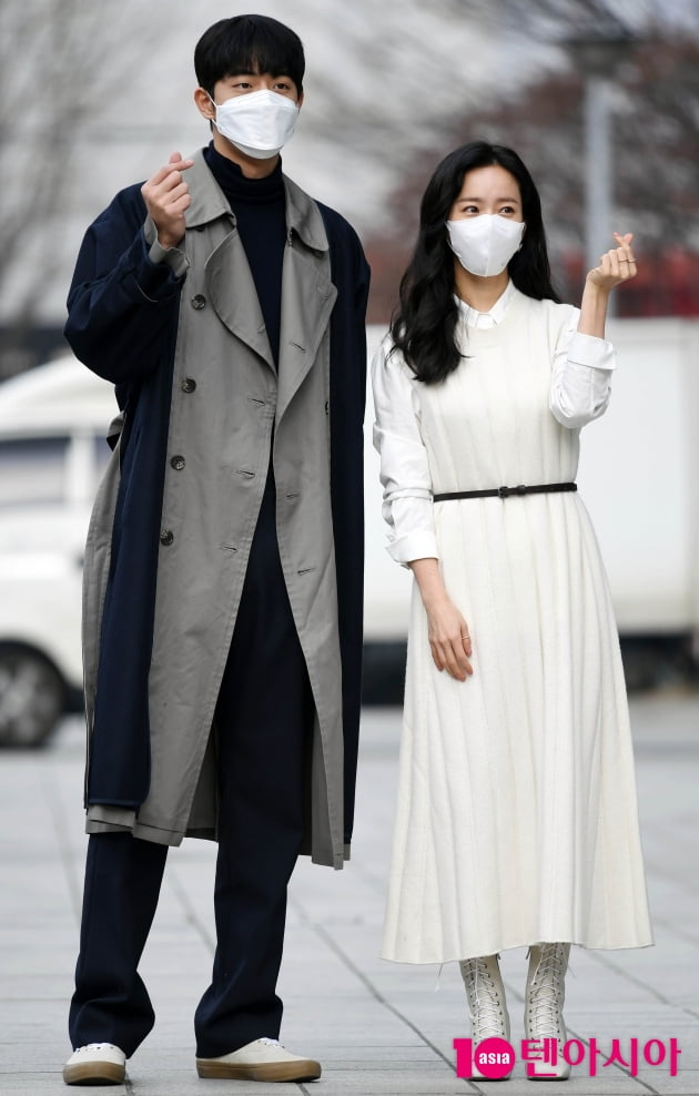 [TEN 포토] 한지민-남주혁 '잘어울리는 선남선녀'