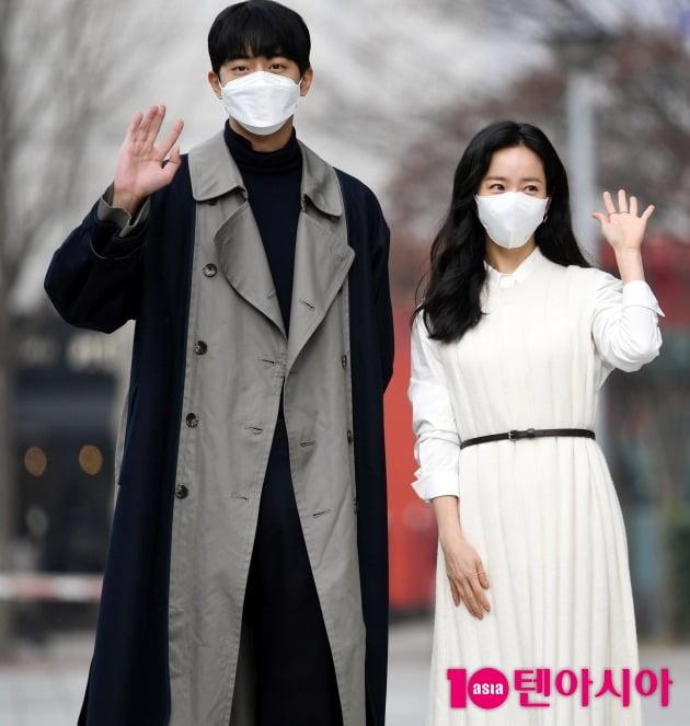 남주혁(왼쪽), 한지민이 '컬투쇼'에 출연했다. / 사진=텐아시아DB